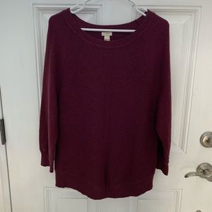 J.CREW OVER SIZED KNIT SWEATER SUPER COZY/COMFY Lg